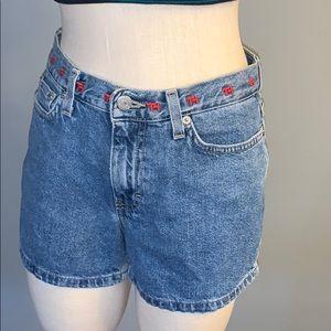90's Tommy Hilfiger jeans shorts